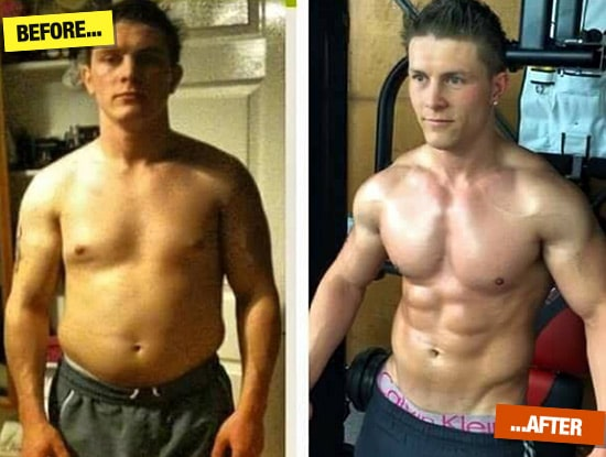darren Tanser before and after